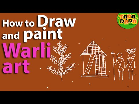 Learn how to draw and paint  Warli
