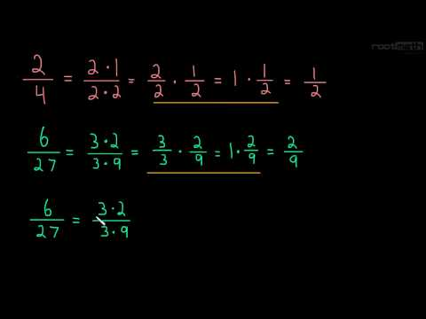 1.3 Cancelling Fractions