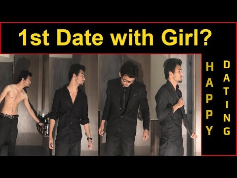 1st Date with Girl? How to get ready for Dating with 2018 Black Men's Suit