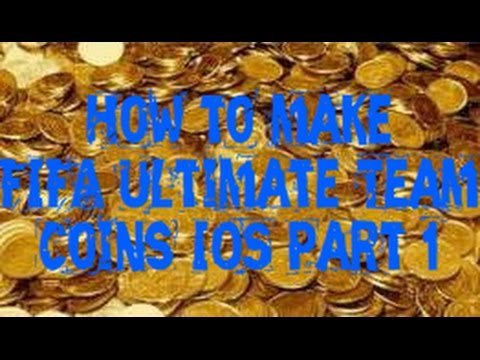 How to make easy FIFA 14 IOS Coins! Part 1