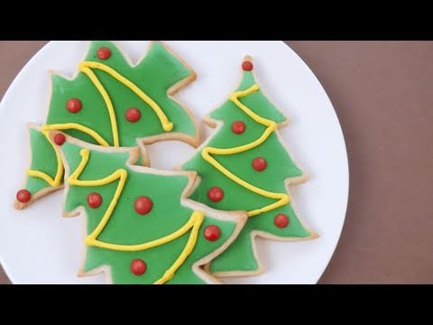 How to Decorate Christmas Sugar Cookies