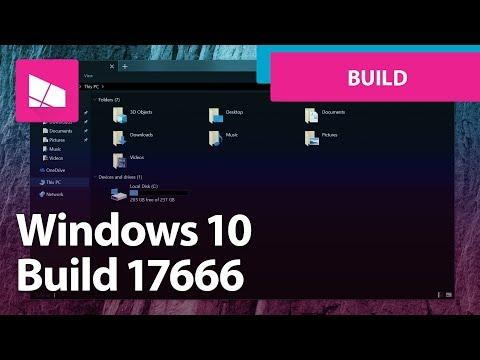 Windows 10 Build 17666 - Dark Context Menus, Dark File Explorer, Cloud Clipboard + MORE