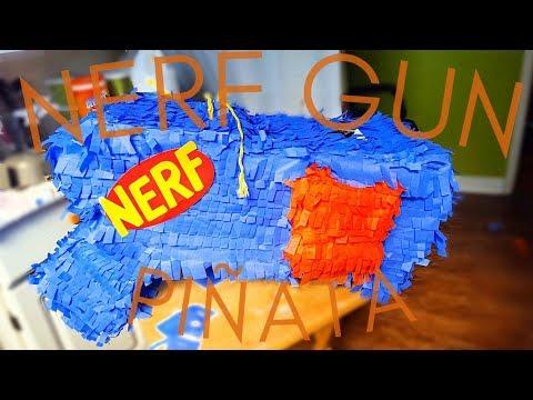 DIY NERF GUN PIÑATA