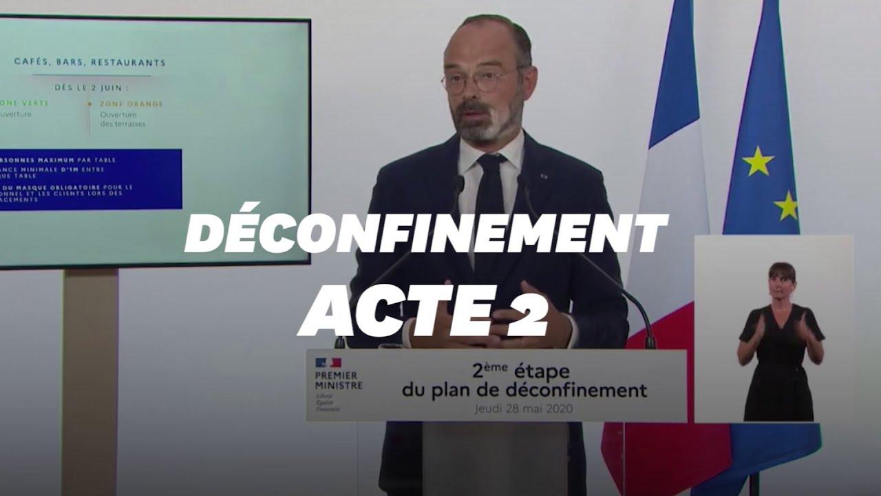 Déconfinement: discours d'Édouard Philippe du 2 juin