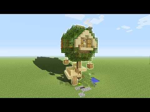 Minecraft Tutorial: How To Make Your First Tree House