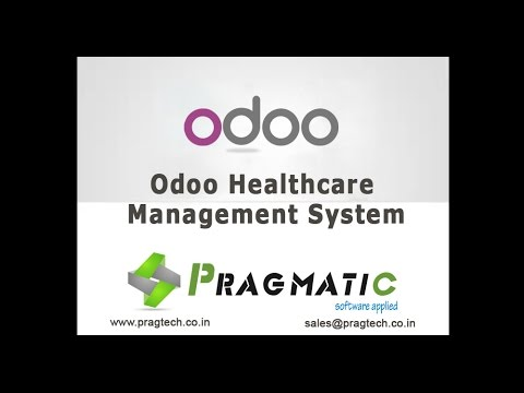 Odoo OpenERP 8 Healthcare Management System