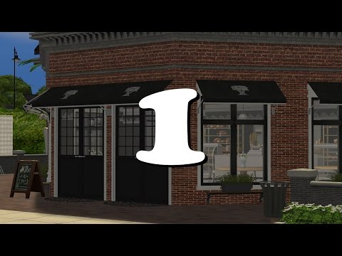The Sims 2 - Bluewater Village - J'Adore Bakery - Part 1