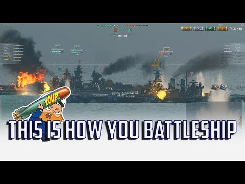 World of Warships This is How You Battleship