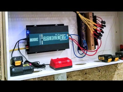 Cheap 3000W Reliable Inverter, DIY Powerwall, Chevy Volt Batteries