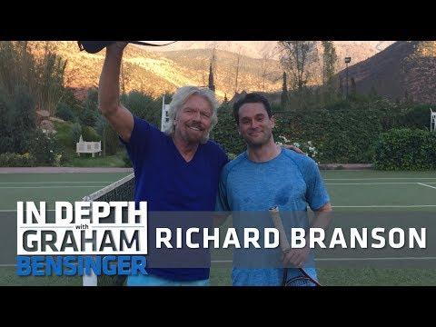 Unexpectedly stalking Richard Branson