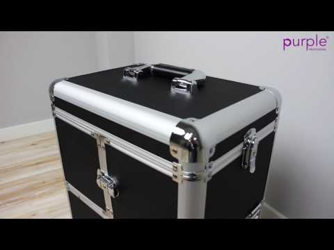 Mala e Trolley para cosméticos - Suitcase and Trolley for cosmetics by Purple Professional