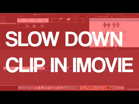 How To Slow Motion/Slow Down Clip In iMovie 2016