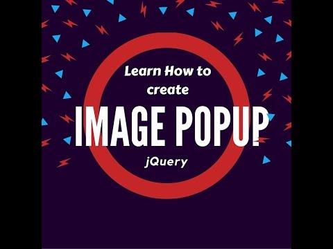 jQuery image popup