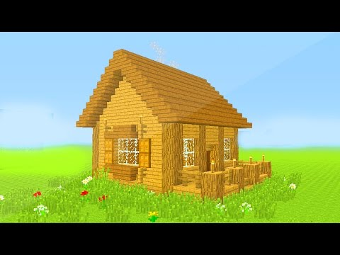 Minecraft: How To Build A Small Survival House Tutorial (Easy) - Xbox/Playstation/PC
