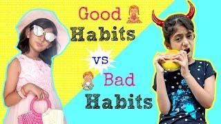 Good Habits vs Bad Habits   #ShrutiArjunAnand #Sketch #Fun #MyMissAnand