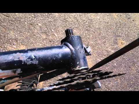 How to take off a mtb crank without a crank puller!