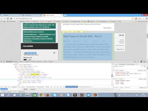 Selenium WebDriver - Extracting Sample Data From A WebPage - Tutorial 4