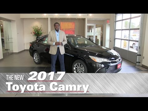 The New 2017 Toyota Camry XLE - Minneapolis, St Paul, Brooklyn Center, MN - Review