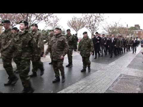 1st Battalion The Rifles, Freedom of Barnstaple Parade, 29th April 2012