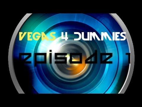 [Ep.1] Sony Vegas 4 Dummies - How to cut out parts of videos