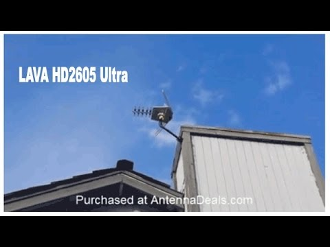 The BEST HDTV Antenna - 64 Channels And Goodbye Cable!