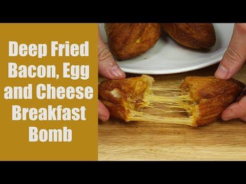 How to: Cheesy Bacon Breakfast Bombs Recipe