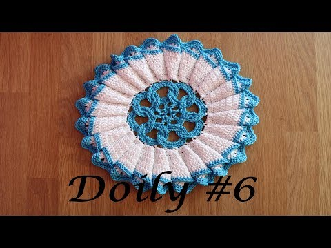 Doily #6- The Winter Star