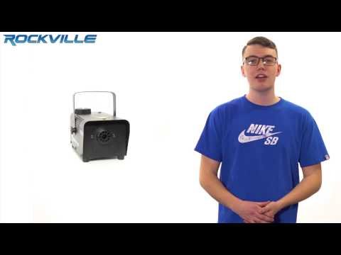 Rockville R700 Fog/Smoke Machine w/ Remote Quick Heat-up