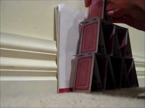 HOW TO-build a card tower