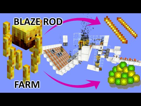 BEST BLAZE FARM for Rods & XPs (1.11/1.10)