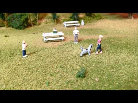 Model Railroading: How to Make HO Scale Soda, Coke or Beer Cans for your Model Train Layout