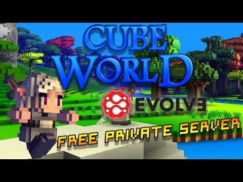 How to make a PRIVATE Cube World SERVER |2018|UPDATED|FREE|