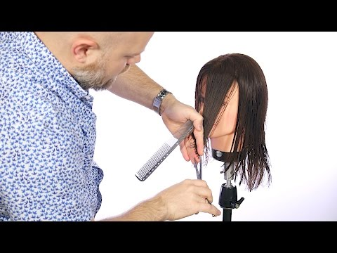 How to Cut a Face Frame - TheSalonGuy