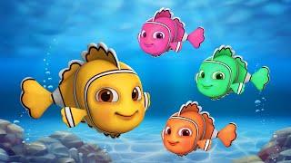 மீன் தான் கடலின் ராணி | Machli Jal ki Rani by Jugnu Kids Tamil