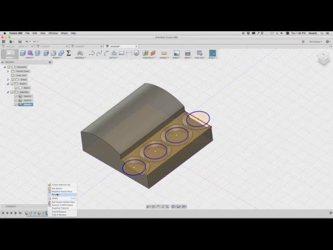 2016 Spring Digital Fabrication: (1 of 4) Creating a 2.5D form for CNC moldmaking