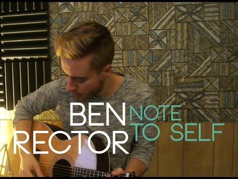 Ben Rector - Note To Self | Cover by Jonah Baker