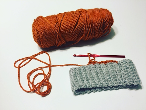 How To: Crochet around the brim of a hat; bottom to top hat, slouchy hat, crochet brim