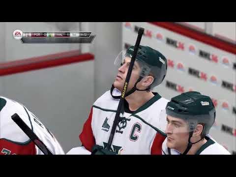 NHL 14  Live the Life Goalie setup and game