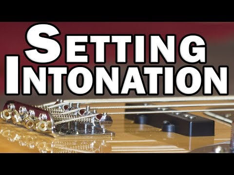 Recording In-Tune – Setting the Intonation on a Squier Jazz Bass