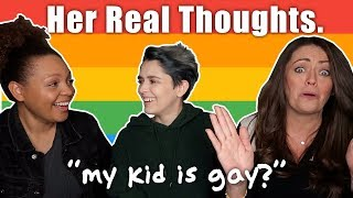 WHAT MY MOM REALLY THOUGHT WHEN I CAME OUT. 🏳️🌈