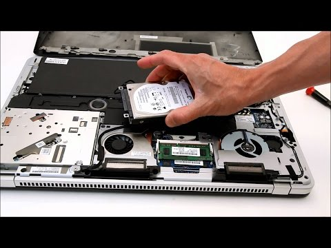 How to replace harddisk of laptop q-force ( Model: 9525P )   2015