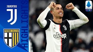 Juventus 2-1 Parma | CR7 Brace Sends Juve 4 Points Clear of Inter! | Serie A TIM