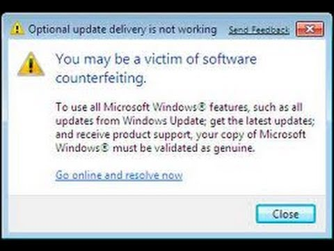this copy of windows is not activated windows 7 fix
