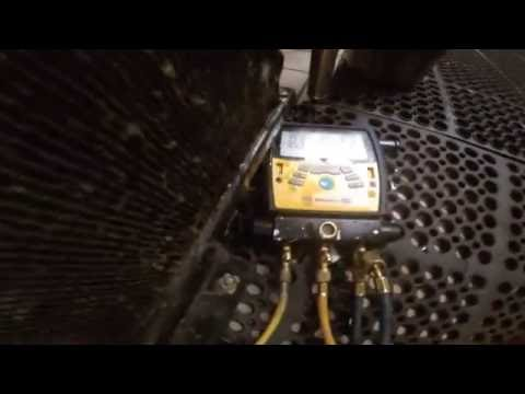 How to find and fix freon leak. 2 door True Freezer. Major leak. Refrigeration. 1080HD