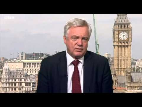 David Davis comments on the end of new wind turbine subsidies on BBC Look North