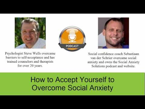 How to accept yourself to overcome social anxiety