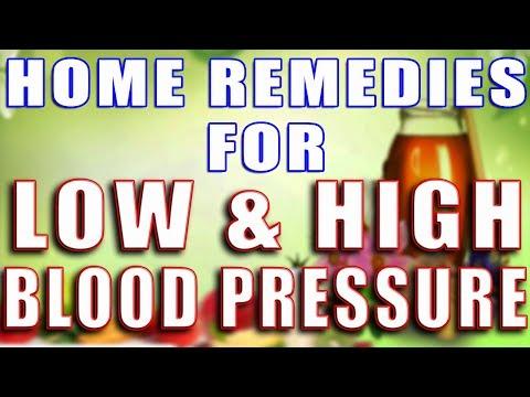 HOME REMEDIES FOR LOW & HIGH BLOOD PRESSURE  II निम्न और उच्च रक्तचाप के लिए घरेलू उपचार