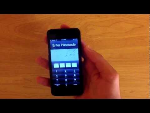 How to Bypass / Get Past Any iPhone's Passcode on iOS 6.1, 6.0.1, and 6.0.2!!!!