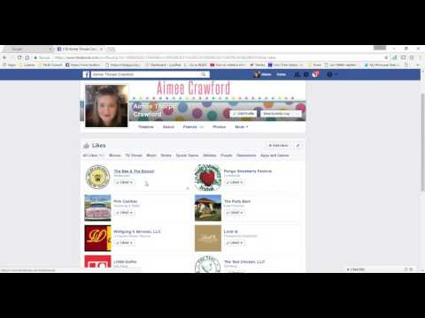 How to see what business pages you have liked on Facebook.