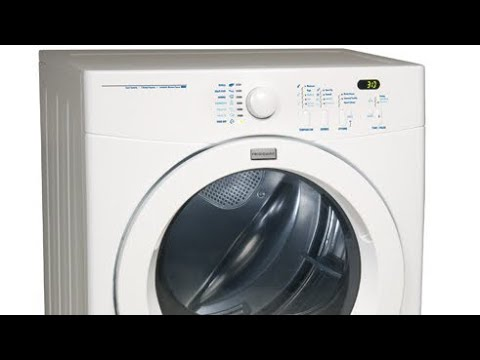 Fridgidaire Dryer Squeeky—How To Replace The Rear Bearing